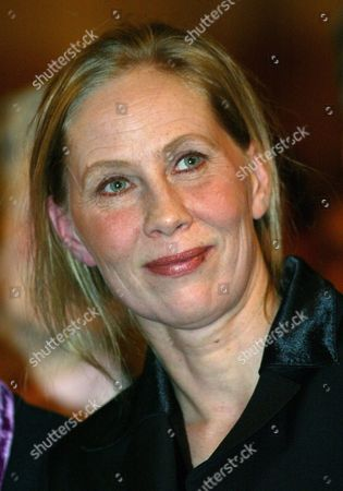Finland's Actress Kati Outinen Smiles in Bremen on Thursday 22 January 2004 where She Received the Bremen Film Award 2004 Endowed with 8 000 Euros Germany Bremen