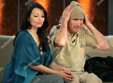 German Actress Cosma Shiva Hagen and Comedian Otto Waalkes Appearing on the German Zdf Television Show Wetten Dass in Bremen Germany on Saturday 09 December 2006 Germany Bremen