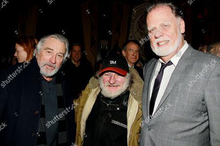 Robert De Niro, Radioman and Tom Bernard
