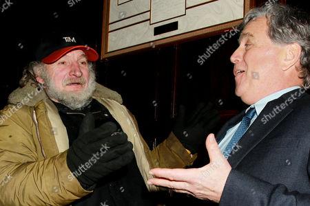 Radioman and Tom Bernard