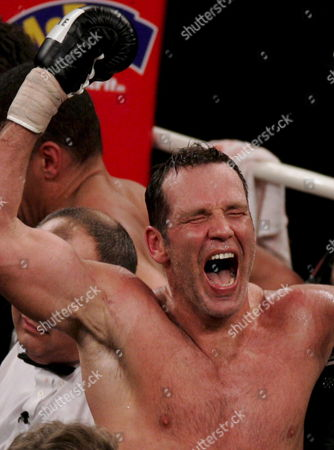 German Boxing Legend Henry Maske Celebrates After Defeating Us Boxing Wba Champion Virgil Hill in Their Rematch Fight in Munich Germany Saturday 31 March 2007 It was the First Fight of Henry Maske Since His Defeat Against Hill in November 1996 Germany Munich