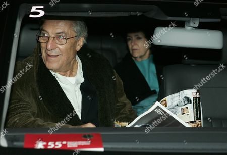 Fashion Designer Nino Cerruti Arrives For the 'Volkswagen People's Night 2005' on the Sidebars of the Berlin International Film Festival Berlinale in the German Capital on 11 February 2005 Germany Berlin