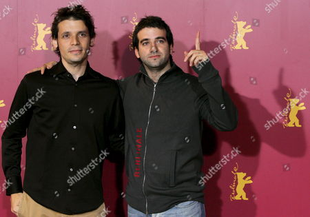 Argentinian Actor Daniel Hendler (r) and Argentinian Director Daniel Burman Pose During a Photo Call For Their Latest Film 'Family Law' at the 56th International Berlinale Film Festival 2006 in Berlin Germany Friday 10 February 2006 'Family Law' Competes For the Festivals 'Golden Bear' Award Germany Berlin