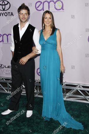 Darren Moore and Anna Getty