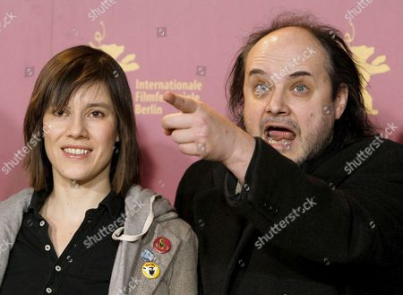 Actors Pia Hierzegger (l) and Paulus Manker Pose During Photocall For Their New Film 'Slumming' at the 56th International Film Festival in Berlin Friday 10 February 2006 the Film Directed by Austrian Film Director Michael Glawogger Runs in Competition at the Festival Germany Berlin