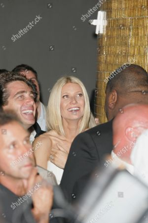 Stock Image of Gwyneth Paltrow and Jeff Soffer