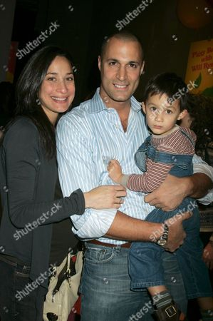 Cristen Chin and photographer Nigel Barker with their son Jack