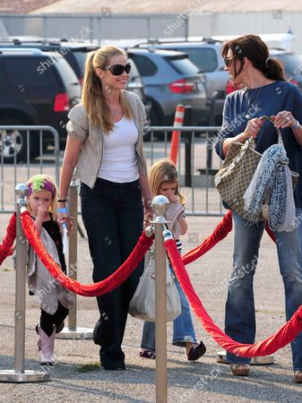 Denise Richards, Krista Allen and children