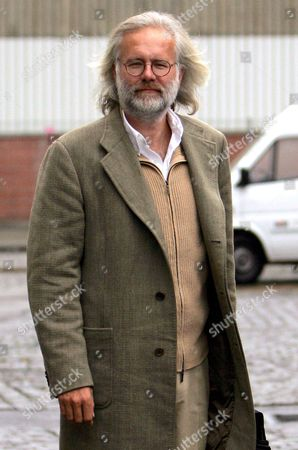 German Entertainer Harald Schmidt Arrives at Studio 449 in Cologne Germany on Thursday 23 December 2004 His New Show 'Harald Schmidt' Will Premiere on Thursday Evening on the German Television Channel Ard Germany Cologne
