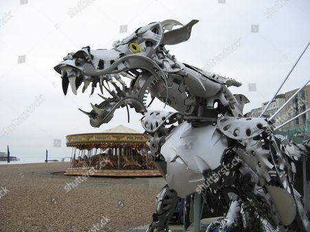 Hubcap dragon