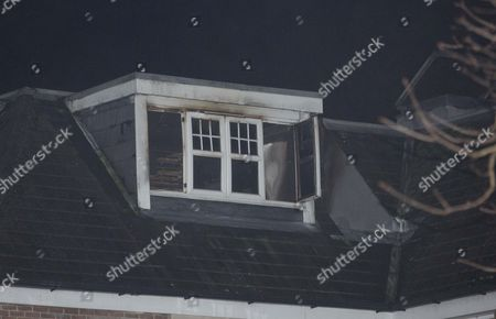 Fire damage at Snooker star Jimmy White's Epsom home