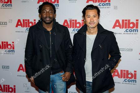 Noom Diawara and Frederic Chau
