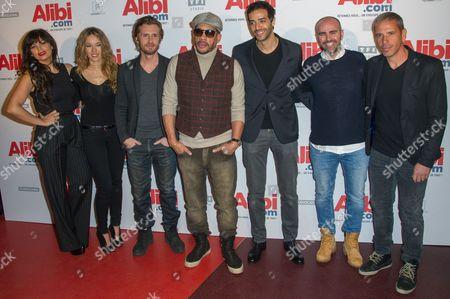 Editorial picture of 'Alibi.com' film premiere, Paris, France - 31 Jan 2017