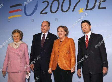 Editorial photo of Germany Eu Treaty of Rome - Mar 2007