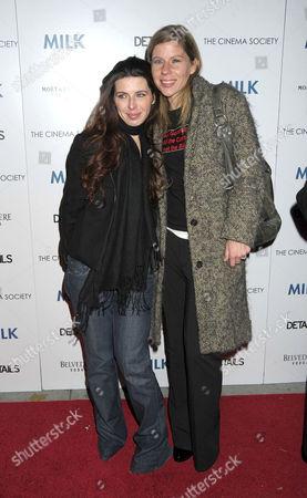 Heather Matarazzo and Caroline Murphy