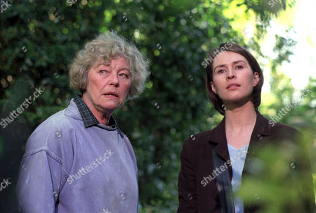 'An Unsuitable Job For a Woman'   TV   1997 Series 1 Picture shows - Helen Baxendale and Rosemary Leach as Mrs Markland