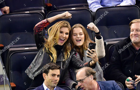 Editorial image of Celebrities at Columbus Blue Jackets v New York Rangers, NHL ice hockey match, Madison Square Garden, New York, USA - 31 Jan 2017