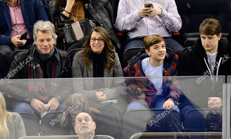Editorial picture of Celebrities at Columbus Blue Jackets v New York Rangers, NHL ice hockey match, Madison Square Garden, New York, USA - 31 Jan 2017