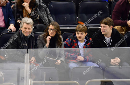 Editorial image of Celebrities at Columbus Blue Jackets v New York Rangers, NHL ice hockey match, Madison Square Garden, New York, USA - 31 Jan 2017
