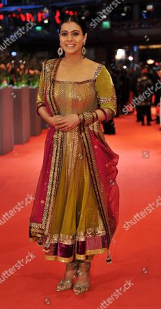 Indian Actress Kajol Devgan Arrives For the Premiere of the Film 'My Name is Khan' During the 60th Berlinale International Film Festival in Berlin Germany 12 February 2010 Germany Berlin