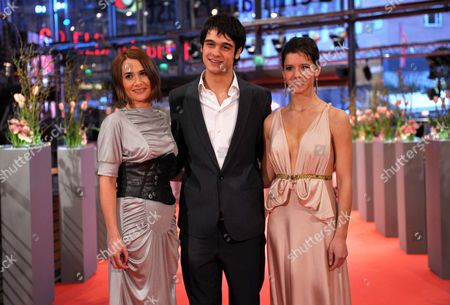 Romanian Actors (l-r) Clara Voda George Pistereanu Ada Condeescu Arrive at the Premiere of the Movie 'Eu Cand Vreau Sa Fluier Fluier' (if i Want to Whistle i Whistle) During the 60th Berlin International Film Festival in Berlin Germany 13 February 2010 the Movie Directed by Florin Serban is Presented in Competition at the Berlinale 2010 Running Until 21 February Germany Berlin