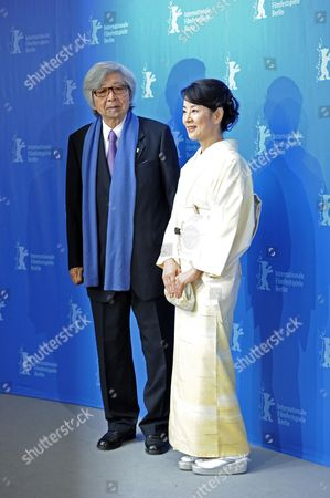 Japanese Director Yoji Yamada (l) and Japanese Actress Sayuri Yoshinaga Attend the Photocall For the Film 'About Her Brother' Running in the Festival But not Competing For the Golden Bear During the 60th Berlinale International Film Festival in Berlin Germany 20 February 2010 the Festival Runs Until 21 February 2010 Germany Berlin