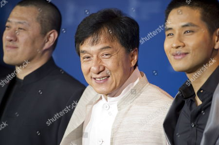 Director Ding Sheng (l-r) and Actors Jackie Chan and Steve Yoo Attend the Photocall For Their Film 'Little Big Soldier' During the 60th Berlin International Film Festival in Berlin Germany 16 February 2010 the Film is Presented in the Berlinale Special Section of the Festival Running Until 21 February Germany Berlin