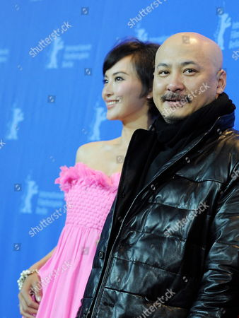Chinese Actress Monica Mo (l) and Chinese Director Wang Quan'an Attend the Photocall For the Movie 'Tuan Yuan' Which Will Open the 60th Berlinale International Film Festival in Berlin Germany 11 February 2010 the Festival Runs Until 21 Febuary 2010 Germany Berlin