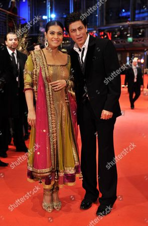Indian Actor Shah Rukh Khan and Indian Actress Kajol Devgan Arrive For the Premiere of the Film 'My Name is Khan' During the 60th Berlinale International Film Festival in Berlin Germany 12 February 2010 Germany Berlin