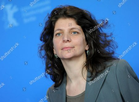 Stock Picture of French Director Julie Gavras Poses at a Photocall For Her Movie 'Late Bloomers' During the 61st Berlin International Film Festival in Berlin Germany 17 February 2011 the Movie is Presented in the Berlinale Special Section at the 61st Berlinale Running From 10 to 20 February Germany Berlin