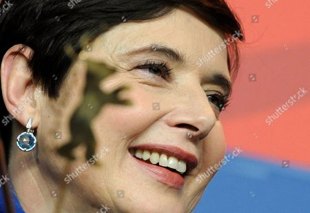 Stock Image of Italian Actress Isabella Rossellini Attends a Press Conference For the Movie 'Late Bloomers' During the 61st Berlin International Film Festival in Berlin Germany 17 February 2011 the Movie by French Director Julie Gavras is Presented in the Berlinale Special Section at the 61st Berlinale Running From 10 to 20 February Germany Berlin