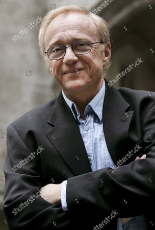 Israeli Author David Grossmann Poses Prior to a Press Conference in Munich Germany 24 November 2008 Grossmann Will Later Be Awarded the Geschwister-scholl-prize 2008 Germany Munich