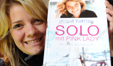 Jessica Watson of Australia Presents Her Book 'True Spirit - the Aussie Girl who Took on the World' in Hamburg Germany 18 January 2011 Watson was the Youngest to Sail Round the World Solo She Completed Her Voyage on 15 May Three Days Before Her 17th Birthday Germany Hamburg