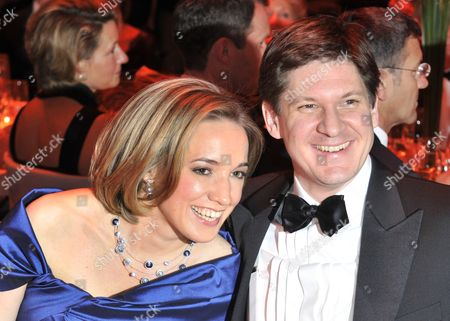 Minister For Family Affairs Kristina Schroeder (l) and Her Husband Paliamentary State Secretary at the Federal Ministry of the Interior Ole Schroeder (r) Attend the 41st 'Ball Des Sports'á(sports Ball) in Wiesbaden ágermany 05 February 2011 Under the Motto 'Moving Moments ' Some 1 800 Guests Are to Attend This Year's Ball Germany Wiesbaden