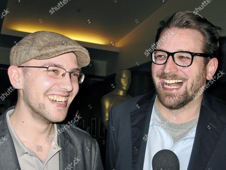 Stock Picture of A Picture Made Available on 23 February 2011 Shows German Filmmakers Max Lang (l)áand Jakob Schuh During a Reception For the Academy Awards Nominees in Los Angeles Usa 22 February 2011 Their Short Film 'The Gruffalo'áis Nominated in the Category Short Film (animated) the 83rd Academy Awards Ceremony Will Take Place in Los Angeles on 27 February 2011 United States Los Angeles