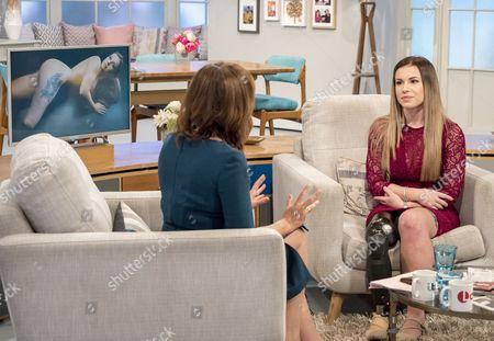 Editorial picture of 'Lorraine' TV show, London, UK - 01 Feb 2017