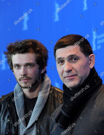 Russian Actors Grigoriy Dobrygin (l) and Sergey Puskepalis Attend the Photocall For the Film 'How i Ended This Summer' Running in Competition During the 60th Berlinale International Film Festival in Berlin Germany 17 February 2010 the Festival Runs Until 21 Febuary 2010 Germany Berlin