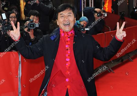 Chinese Actor Jackie Chan Arrives For the Premiere of His Film 'Little Big Soldier' During the 60th Berlin International Film Festival in Berlin Germany 17 February 2010 the Film by Director Ding Sheng is Presented in the Berlinale Special Section of the Festival Running Until 21 February Germany Berlin