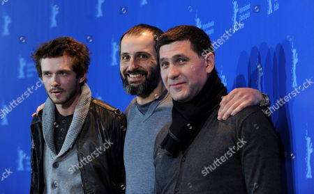 Russian Actors Grigoriy Dobrygin (l) and Sergey Puskepalis (r) Pose with Russian Director Alexeyi Popogrebsky During the Photocall For the Film 'How i Ended This Summer' Running in Competition During the 60th Berlinale International Film Festival in Berlin Germany 17 February 2010 the Festival Runs Until 21 Febuary 2010 Germany Berlin