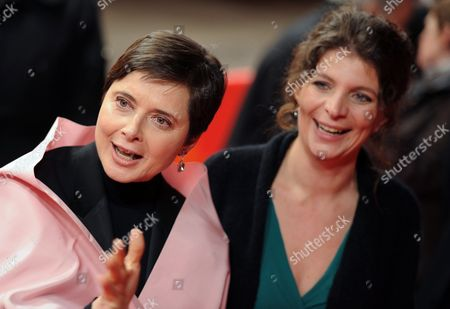 French Director Julie Gavras (r) and Italian Actress and Festival President Isabella Rossellini Arrive For the Premiere of Their Movie 'Late Bloomers' During the 61st Berlin International Film Festival in Berlin Germany 18 February 2011 the is Presented in the Berlinale Special Section at the 61st Berlinale Running From 10 to 20 February Germany Berlin