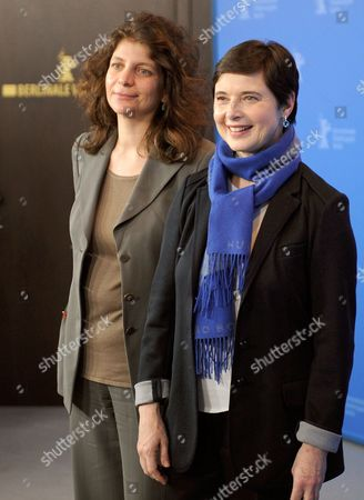 Stock Picture of French Director Julie Gavras (l) and Italian Actress and Festival President Isabella Rossellini Pose at a Photocall For Their Movie 'Late Bloomers' During the 61st Berlin International Film Festival in Berlin Germany 17 February 2011 the Movie is Presented in the Berlinale Special Section at the 61st Berlinale Running From 10 to 20 February Germany Berlin
