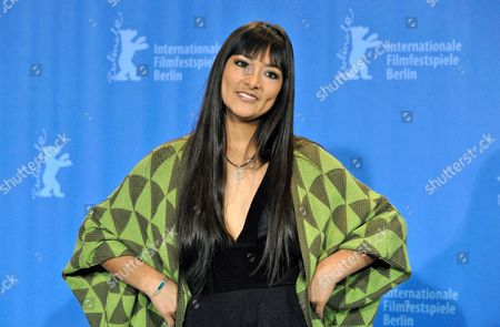 Actress Magaly Solier Poses During the Photo Call of Her Film 'The Milk of Sorrow' (la Teta Asustada) at the 59th Berlin International Film Festival in Berlin Germany 12 February 2009 the Film is Among 18 Films Competing For the Silver and Golden Bear Awards at the 59th Berlinale Germany Berlin
