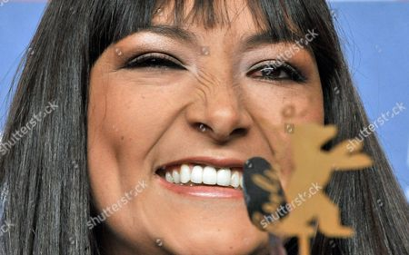 Actress Magaly Solier Smiles During the Press Conference of the Film 'The Milk of Sorrow' (la Teta Asustada) at the 59th Berlin International Film Festival in Berlin Germany 12 February 2009 the Film is Among 18 Films Competing For the Silver and Golden Bear Awards at the 59th Berlinale Germany Berlin