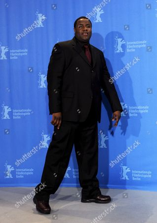Us Actor Jamal Woolard Poses During the Photo Call of the Film 'Notorious' at the 59th Berlin International Film Festival in Berlin Germany 11 February 2009 the Film is Among the 18 Films Competing For the Silver and Golden Bear Awards at the 59th Berlinale Winners Will Be Announced on 14 February Germany Berlin