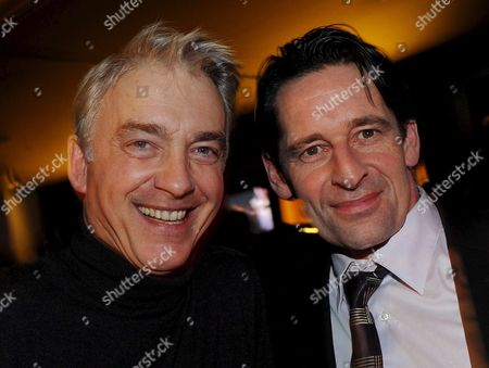 German Actors Christoph M Ohrt (l) and Max Tidorf Attend the Party 'Sat 1 Directors Cut' at the 'Puro Sky Lounge' Within the 59th Berlin International Film Festival in Berlin Germany 11 February 2009 Germany Berlin