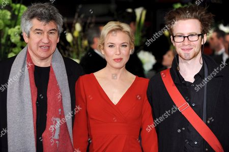 British Director Richard Loncraine (l-r) Us Actress Renee Zellweger and Canadian Actor Mark Rendall Arrive at the Premiere of Their Film 'My One and Only' at the 59th Berlin International Film Festival in Berlin Germany 12 February 2009 the Film Runs in the Competition a Total of 18 Films Compete For the Silver and Golden Bears of the 59th Berlinale Germany Berlin
