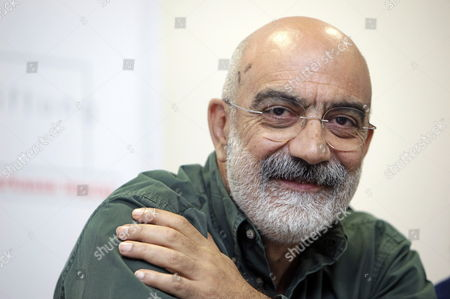 Turkish Journalist Ahmet Altan Attends a Press Conference of the Leipzig Media Award 2009 Ceremony in Leipzig Germany 08 October 2009 Laureate Altan is the Chief Editor of the Newspaper 'Taraf' That Published Critical Reports About the Turkish Military the Leipzig Media Award is Endowed with 30 000 Euros Germany Leipzig