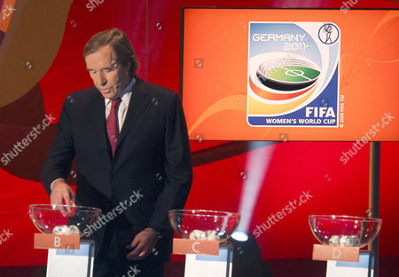 Editorial image of Germany Fifa Women World Cup 2011 - Nov 2010
