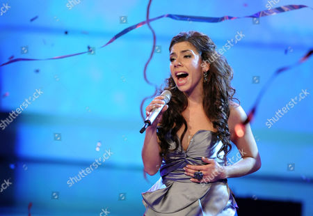 Stock Picture of German Singer Edita Abdieski is the Winner of Vox Talent Show 'X Factor' in Cologne Germany 09 November 2010 Abdieski Prevailed After a Total of Seven Live Shows Epa/ Germany Cologne