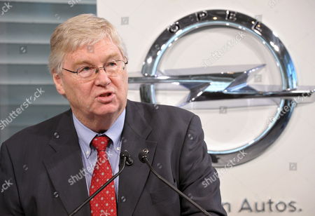 Opel Chairman Nick Reilly Speaks During a Press Conference at the Opel Plant in Eisenach Germany 23 September 2010 Opel's New Car 'Junior' Will Be Produced in Eisenach in 2013 and the Car Company Wants to Invest About 90 Million Euros in the Plant in Thuringia Reilly Announced Germany Eisenach